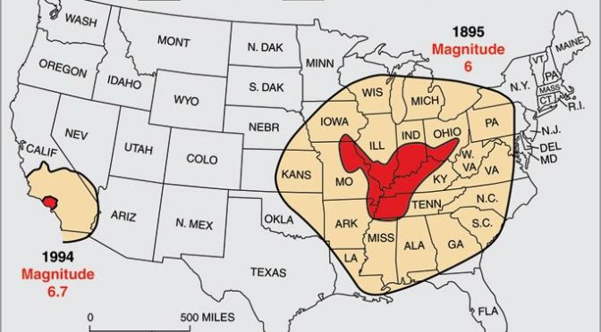 New Madrid Fault Line Attack Underway, 15 Nuclear Reactors Targeted