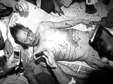 Gadaffi's Last Stand