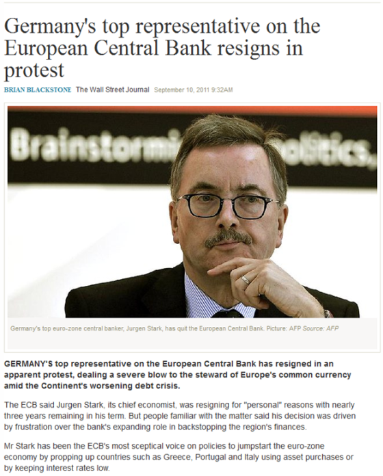 http://www.theaustralian.com.au/business/economics/germanys-top-representative-on-the-european-central-bank-resigns-in-protest/story-e6frg926-1226133627949