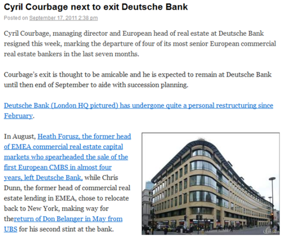 http://costarfinance.wordpress.com/2011/09/17/cyril-courbage-next-to-exit-deutsche-bank/