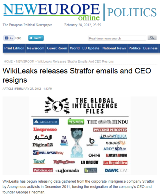 http://www.neurope.eu/article/wikileaks-releases-stratfor-emails-and-ceo-resigns