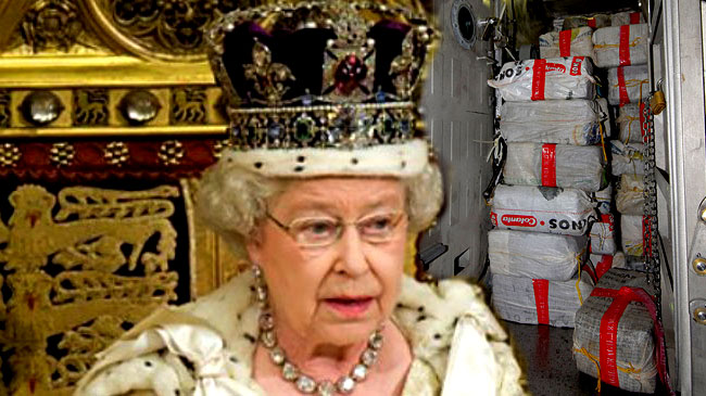 The Queen Traffics Drugs to Augment Income