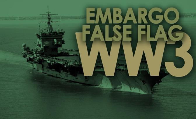 False Flag On USS Enterprise Still On Course