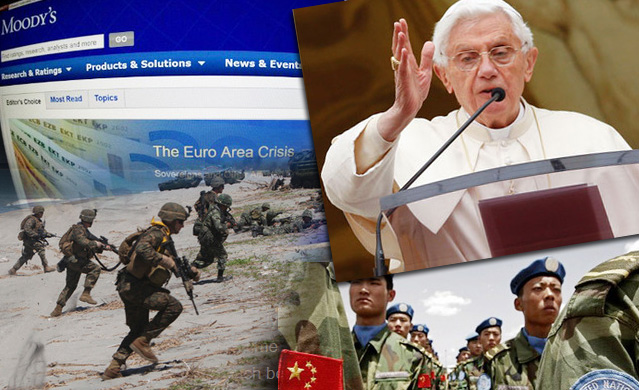 Infallible Pope Invokes Privacy; US-Russia Denver Takeover 4 Days Away; EuroCrash Worsens