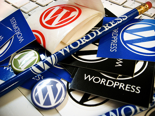 wordpress items