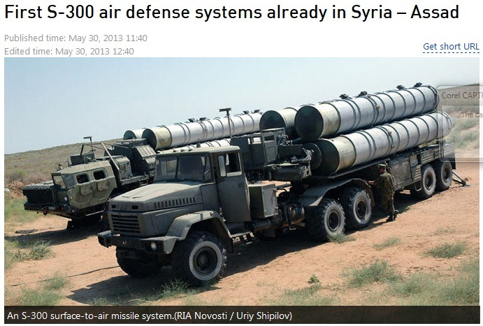 russian s-300 in syria