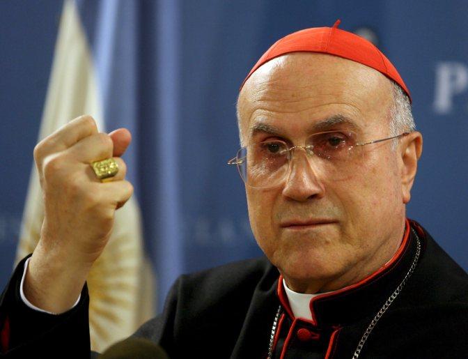 Vice Pope Bertone Resigning