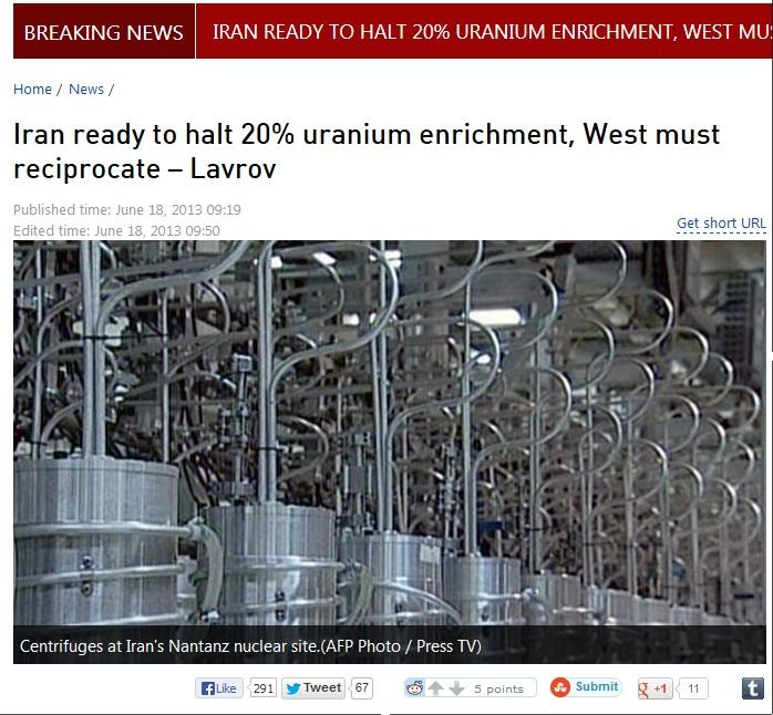 iran ready to halt 20% uranium enrichment