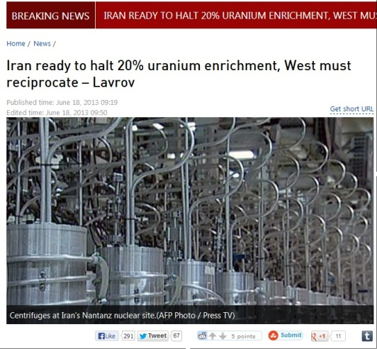 iran ready to halt 20% uranium enrichment