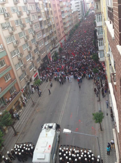 turkey march