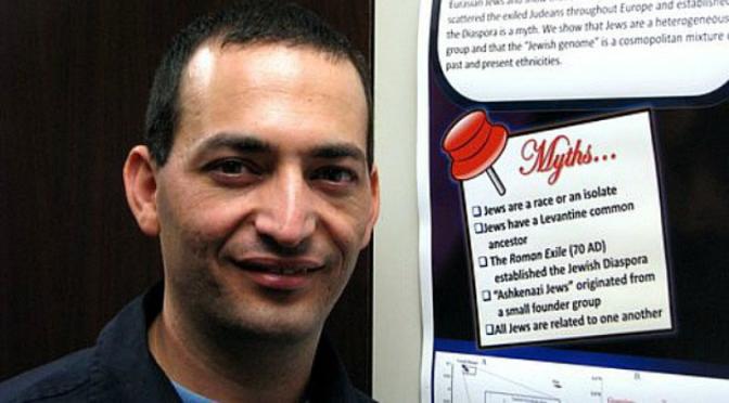 Top Israel Scientist Says Ashkenazi Jews are Khazarians