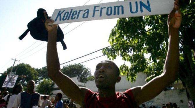 UN Shit Causes Massive Cholera Outbreak in Haiti