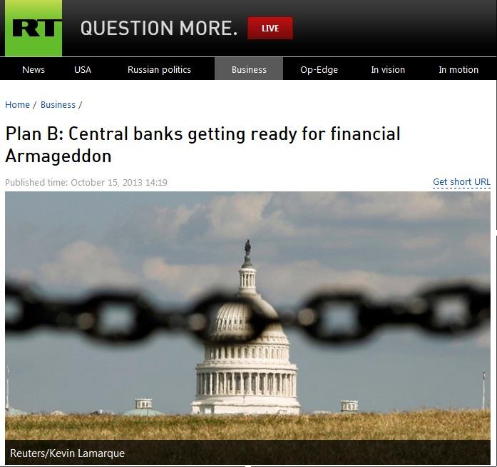central banks alert