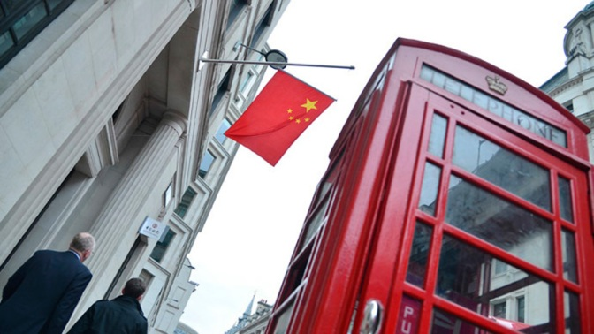 London & Beijing Agree to Avoid Dollar