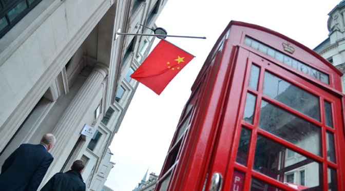 London & Beijing Agree to Avoid Dollar