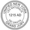 NY unified grand jury seal
