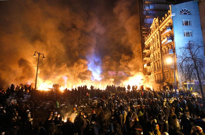 Burning Ukraine