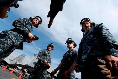 USS George Washington in South Korea