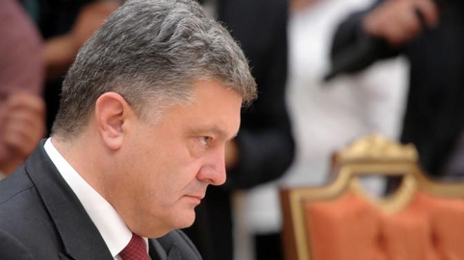 The Unhappy Poroshenko