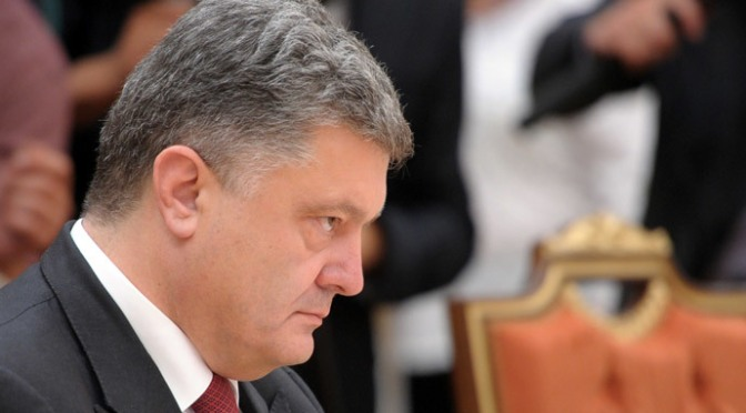The Unhappy Poroshenko