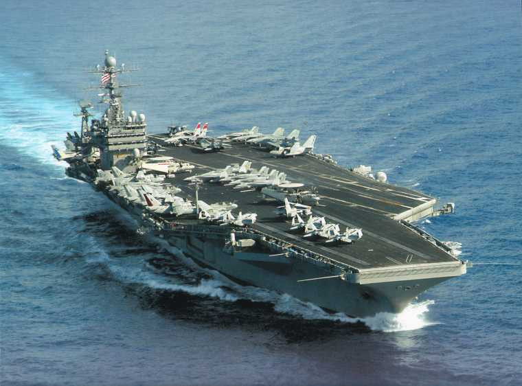 US Sends 2nd Aircraft Carrier After Chinese Barrel Roll Over its Top