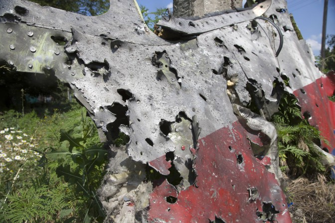 Dutch Preliminary Report on MH 17 Crash