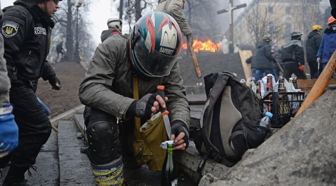 Ukrainians Rise Up @ Kiev's Independence Square
