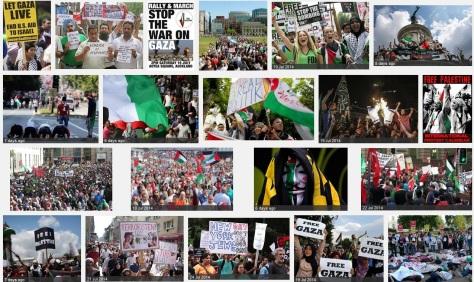 rage against gaza massacre