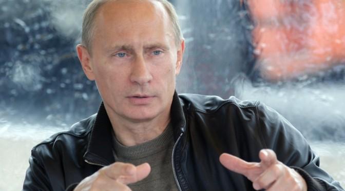 Putin Addresses East Ukraine as New Russia