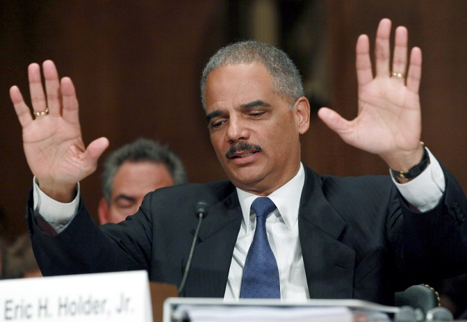 US Atty Gen Eric Holder Resigns