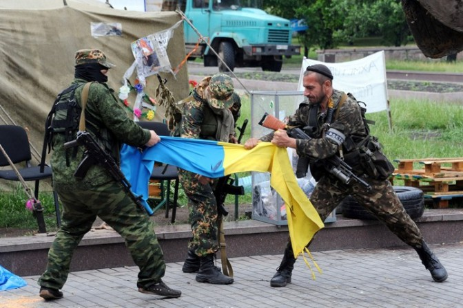 Nazis Are Defeated in Ukraine