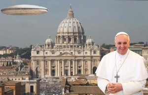 Vatican Preparing Statement on Extraterrestrial Life Vatican-mothership-pope-francis-300x193
