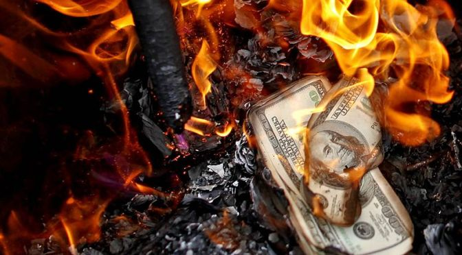 Dollar Decline Continues