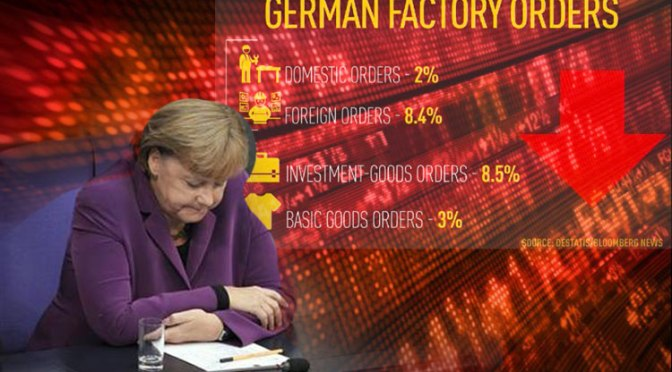 Germany and EU in the Red