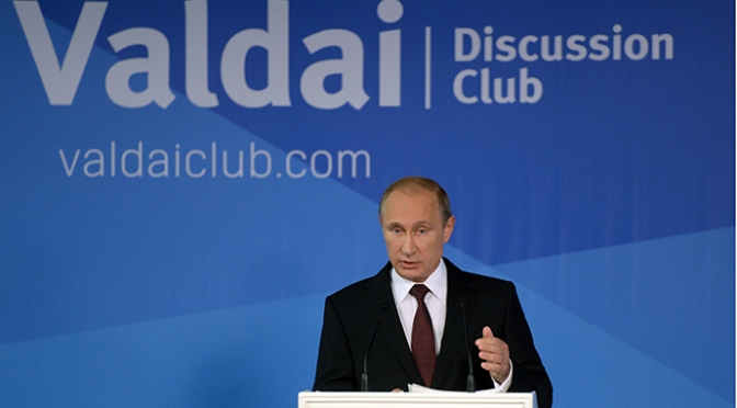 Putin Scolded Exceptional United States Anew