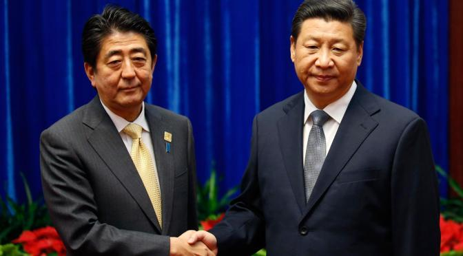 Abe's Humiliation in Beijing