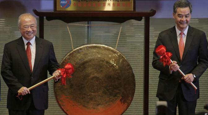 China opens up $4.2tn stock market to world via Hong Kong