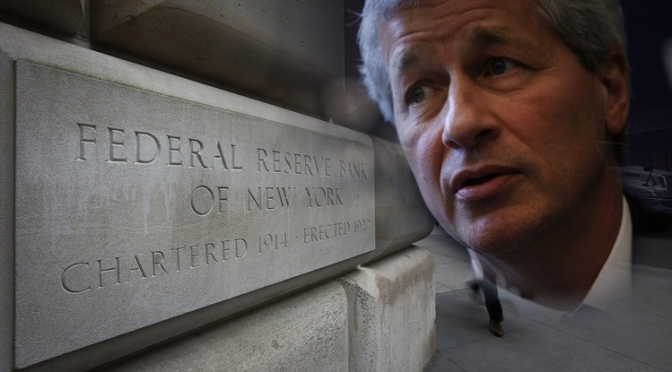 JPMorgan Acts as Fed's $1.7 Trillion QE Custodian Despite its Crimes