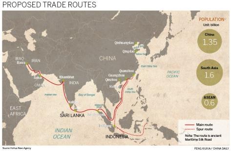 maritime silk road