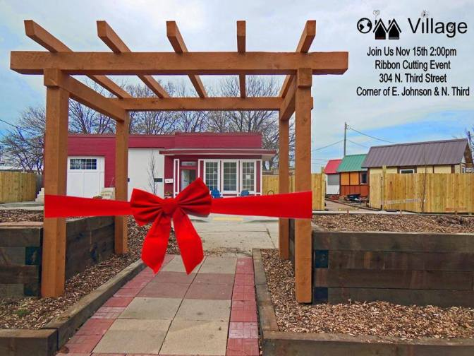 Tiny Homes for the Homeless, an Occupy Madison Project
