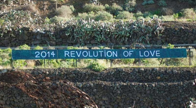 The Next Stage is the Revolution of Love