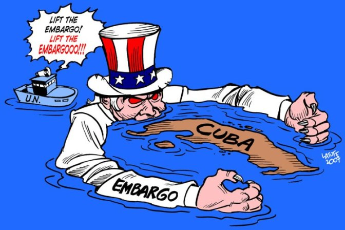 Obama Lifting Sanctions on Cuba; Flip-flopping on More Russia Sanctions