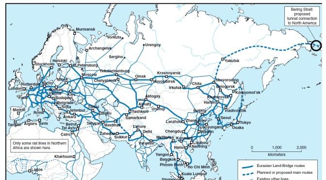 The World at the Crossroads: New Economy is Dawning Eurasian-land-bridge