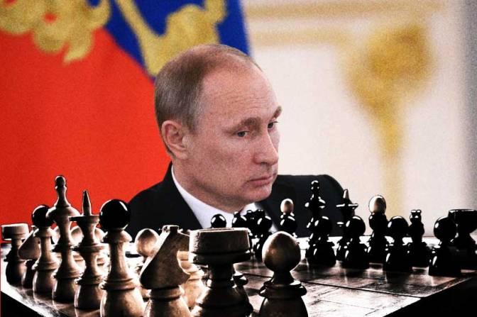 The Golden Trap of Chess Master Vladimir Putin