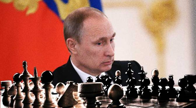 The Golden Trap of Chess Master Vladimir Putin