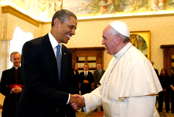 Common Law Sheriffs and OathKeepers Will Arrest Pope During US Visit