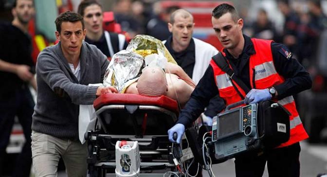 UK / Western Intelligence Caused Paris Attack