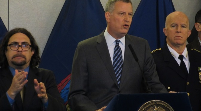 New York City Close Down: A Dress Rehearsal For Total Control De-blasio
