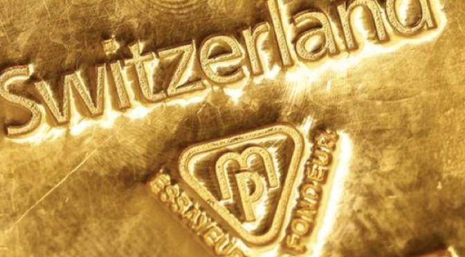 Swiss Fiasco Started A Run On Gold