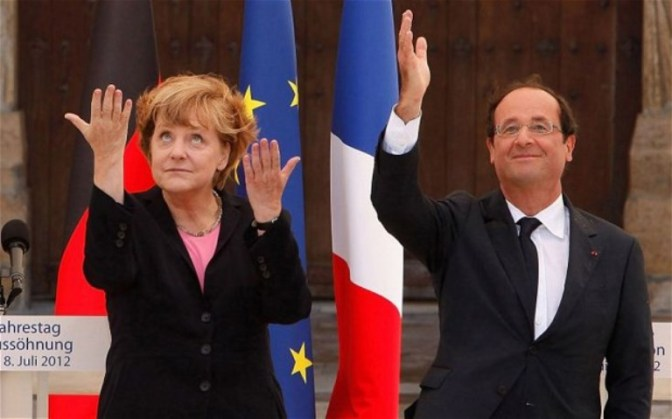 Merkel and Hollande Visits Moscow to Save Trapped Ukrainian Nazis